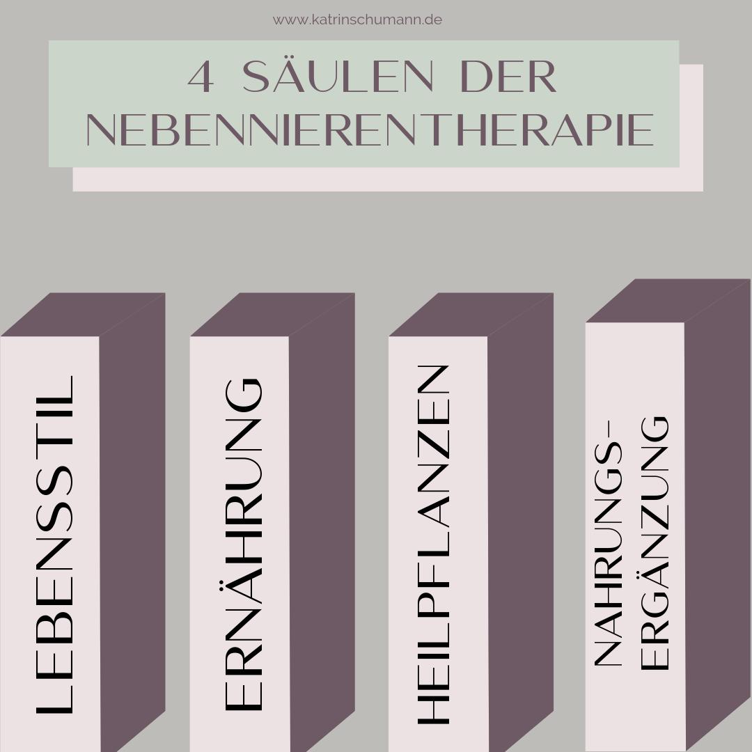 Nebennierenschwäche Therapie