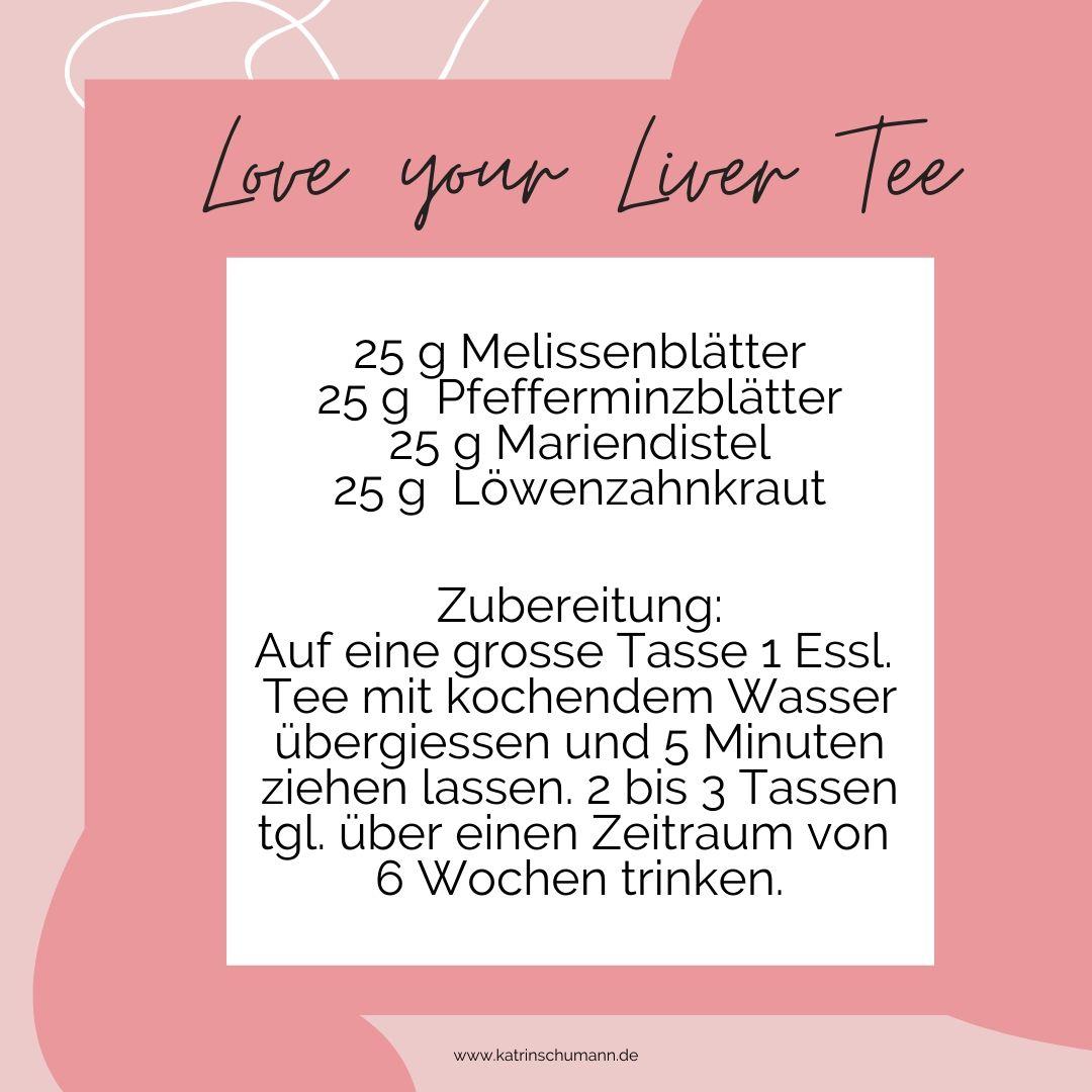 Leber Tee Rezept