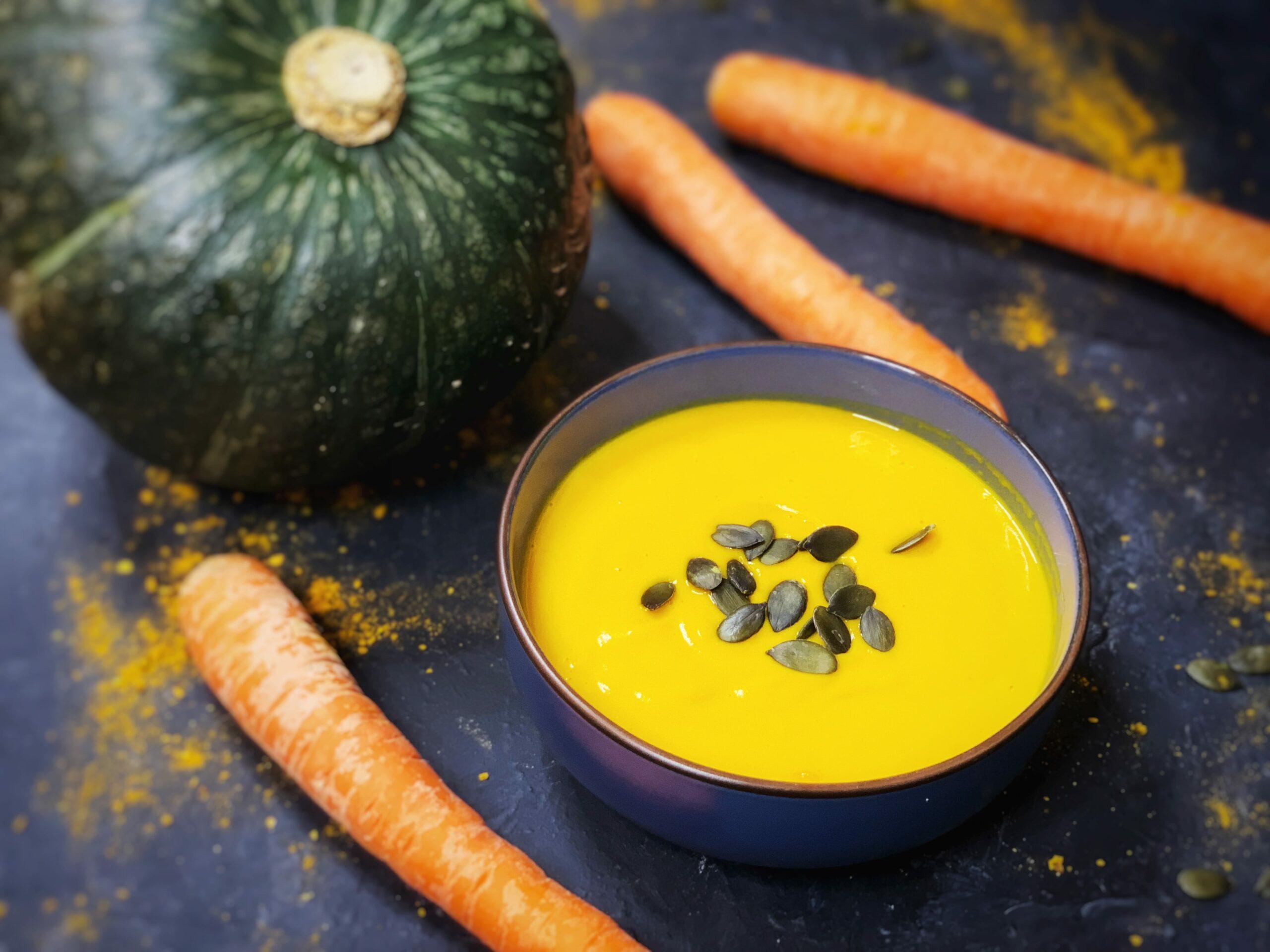Kürbis Kokos Suppe